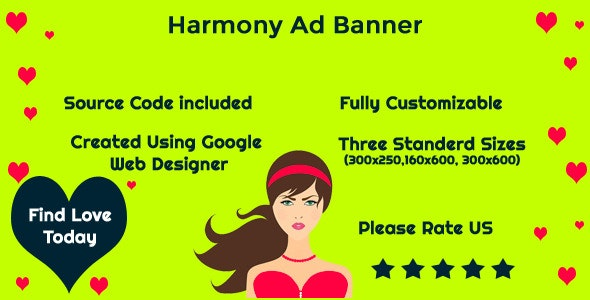 Harmony - HTML5 Ad Template - CodeCanyon Item for Sale