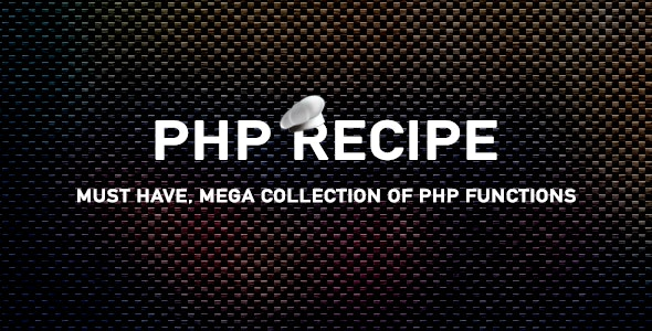 PHP Recipe - PHP Functions Collection (45+) - CodeCanyon Item for Sale