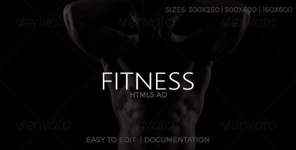 Fitness HTML5 Ad