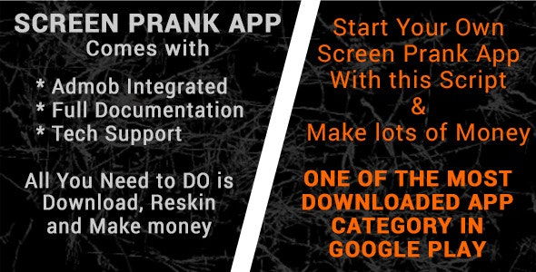 Screen Prank with Admod - CodeCanyon Item for Sale