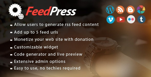 FeedPress - CodeCanyon Item for Sale