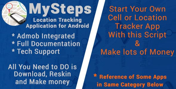 MySteps with AdMob