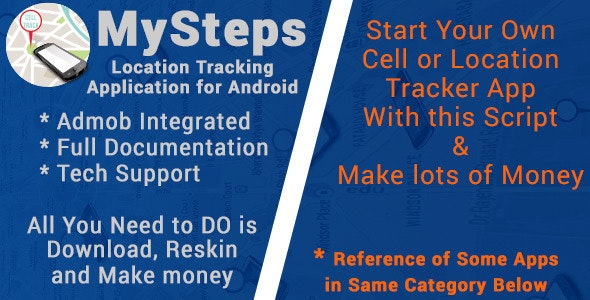 MySteps with AdMob - CodeCanyon Item for Sale