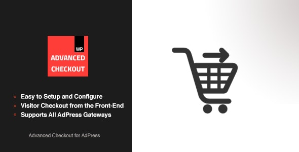Advanced Checkout - AdPress Addon - CodeCanyon Item for Sale