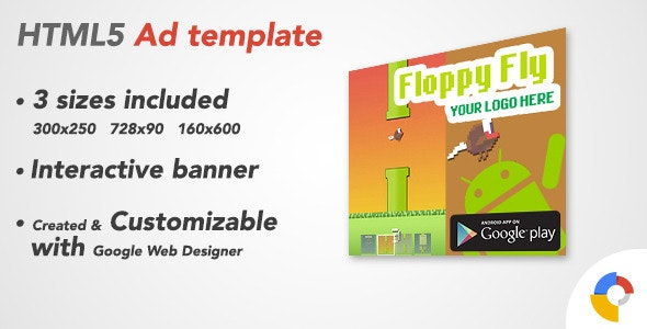 Ad HTML5 Template   Android App - CodeCanyon Item for Sale