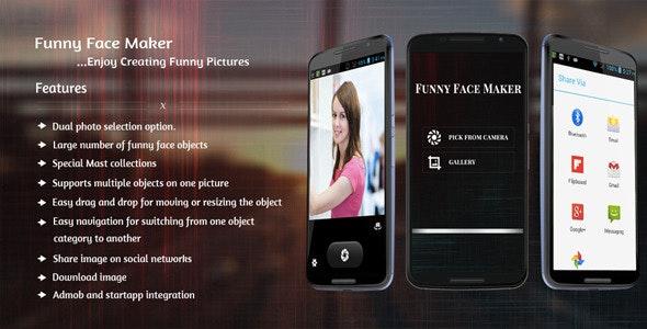 Funny Face Maker by GuruTechnolabs | CodeCanyon