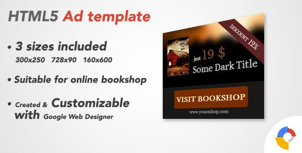 Ad HTML5 Template | Bookshop