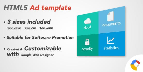 Ad HTML5 Template | Software