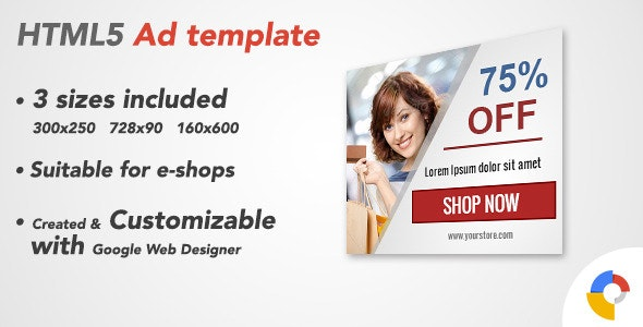 Ad HTML5 Template | Retail Sale - CodeCanyon Item for Sale