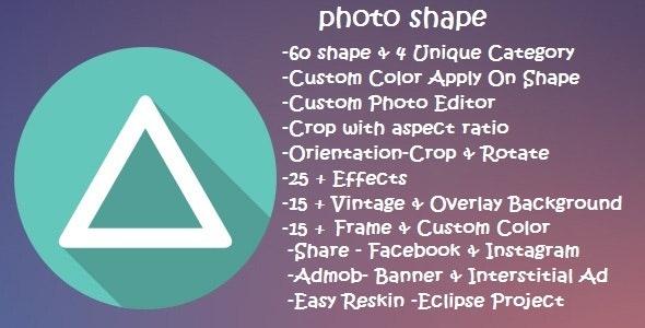 Photo Shape - CodeCanyon Item for Sale