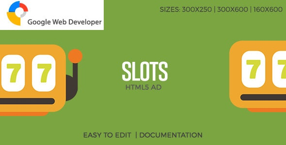Slots - HTML5 Ad - CodeCanyon Item for Sale