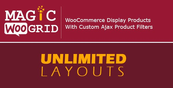 WooCommerce Grid : Display Product + AJAX Filter