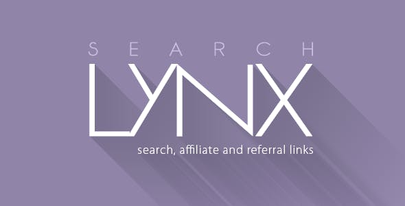 Search Engine, Affiliate and Referral Links: searchLynx