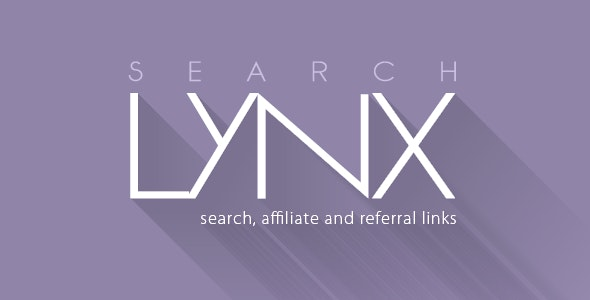 Search Engine, Affiliate and Referral Links: searchLynx - CodeCanyon Item for Sale