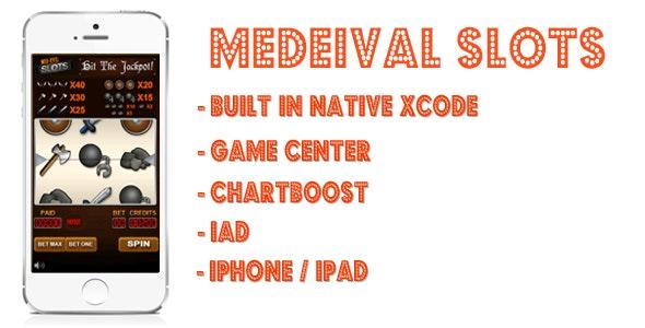 Medeival Slots Jackpot Machine - CodeCanyon Item for Sale