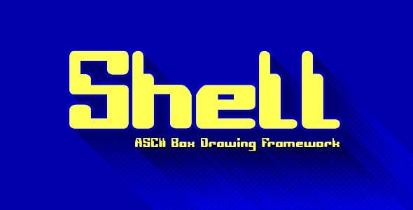 Shell - ASCII Box Drawing Framework