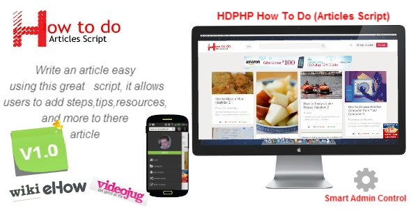 HDPHP How To Do (Wikihow Script) - Sharing Site - CodeCanyon Item for Sale