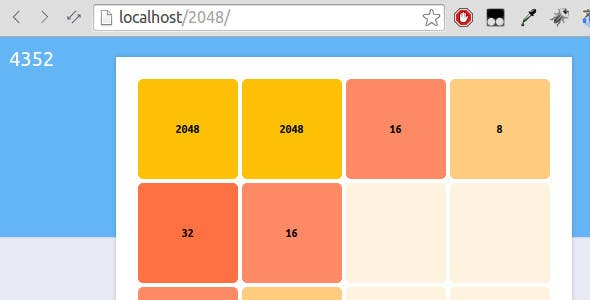 2048 Javascript Game