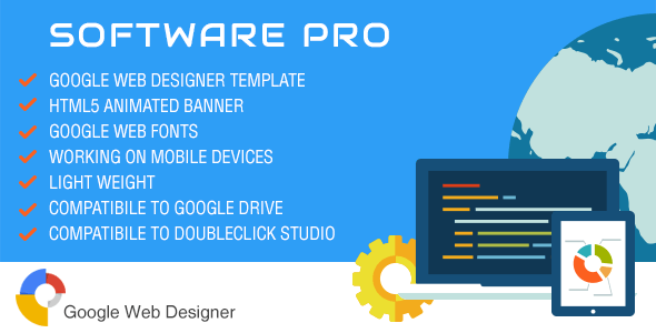 Software Pro - Ad Banner Template GWD - CodeCanyon Item for Sale