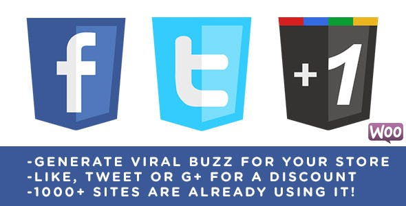 Viral Coupon - Like, Tweet or G+ to get a Discount        Nulled