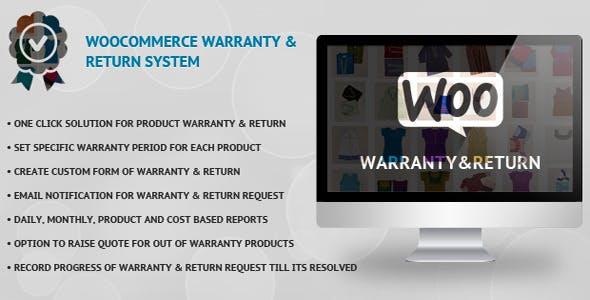 WooCommerce Warranty & Return System