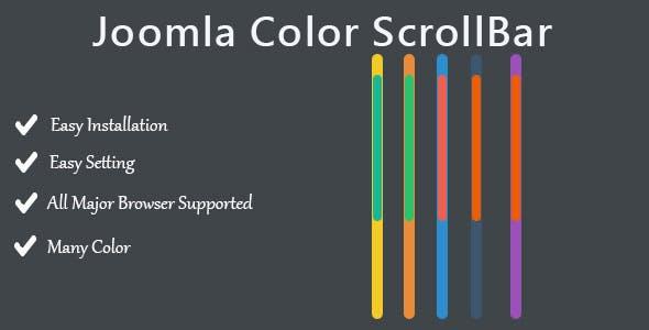 Joomla Color ScrollBar