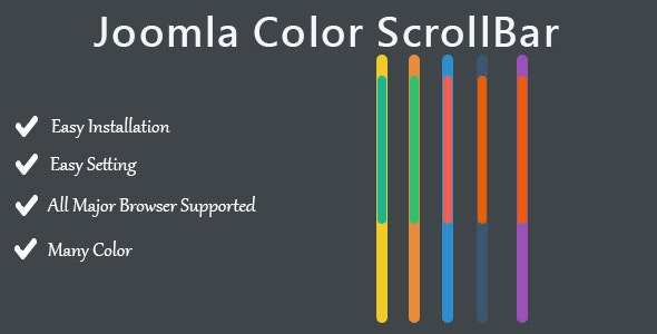 Joomla Color ScrollBar - CodeCanyon Item for Sale