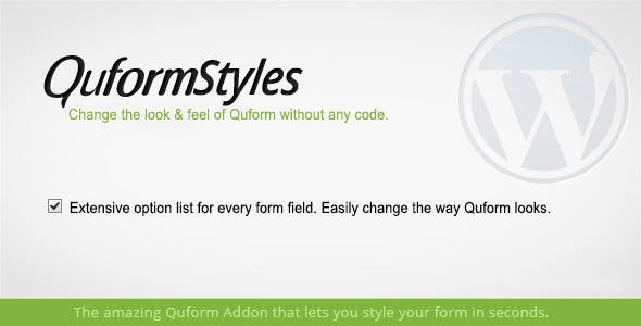 Quform Styles - Form Designer