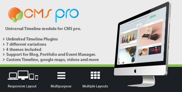 Universal Timeline Module for CMS pro - CodeCanyon Item for Sale