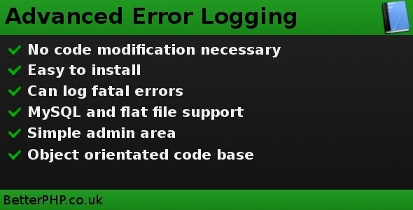 Advanced Error Logging - CodeCanyon Item for Sale