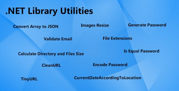 NET Utilities Library