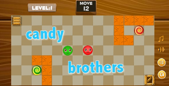 CandyBrothers For Android With Admob - CodeCanyon Item for Sale