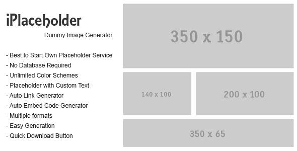 iPlaceholder – Dummy Image Generator by eMediaExperts