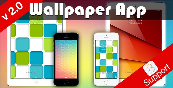 Wallpaper App for iOS 8 - CodeCanyon Item for Sale
