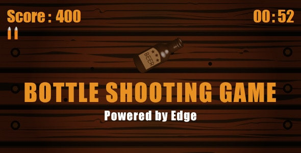 Bottle Shooting Game - CodeCanyon Item for Sale