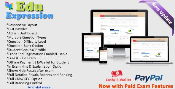 Edu Expression Online Examination System (Lite)