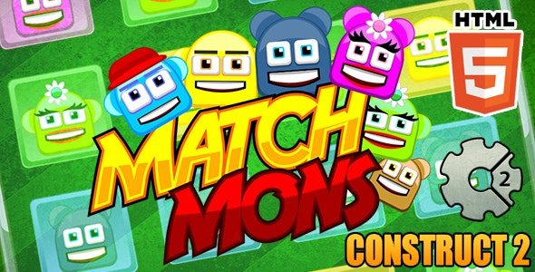 Memory Puzzle Match Game - HTML5 Educational Game (CAPX) - CodeCanyon Item for Sale
