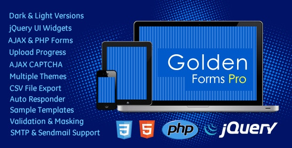 Golden Forms Pro - CodeCanyon Item for Sale