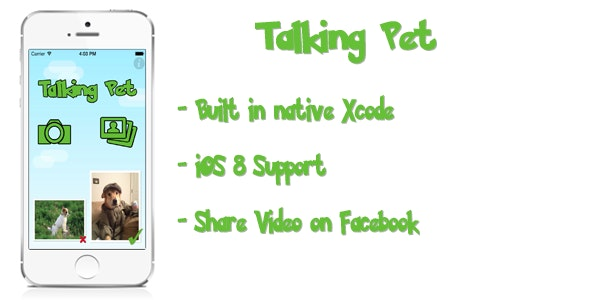 Talking Pets : Make your pets alive  - CodeCanyon Item for Sale