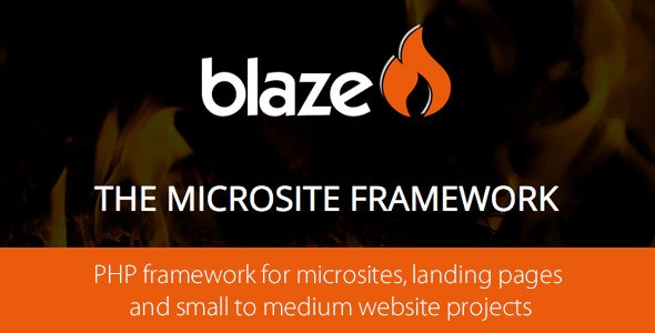 blaze - php framework for small to medium websites - CodeCanyon Item for Sale