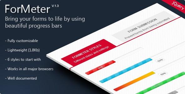 ForMeter - Form Completion Progress Bar - CodeCanyon Item for Sale