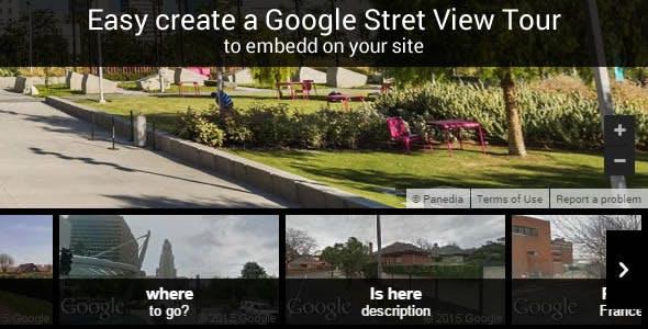Google Stret View Tour