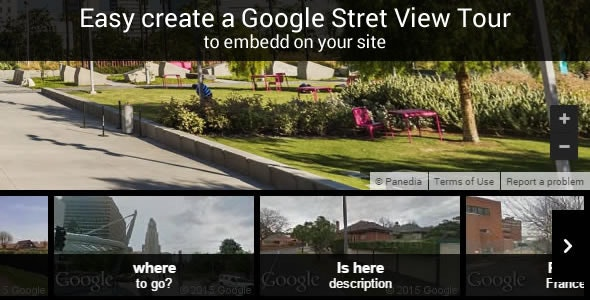 Google Stret View Tour - CodeCanyon Item for Sale