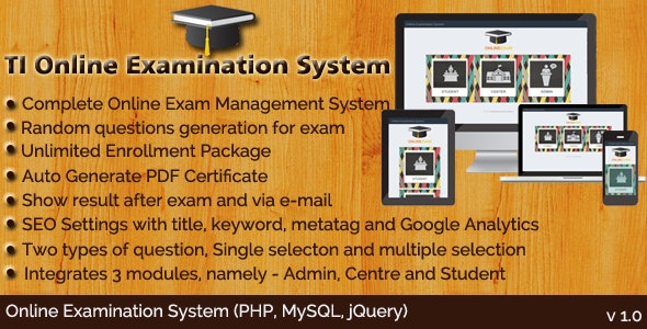 TI Online Examination System - CodeCanyon Item for Sale