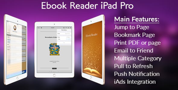 Ebook Reader iPad Pro