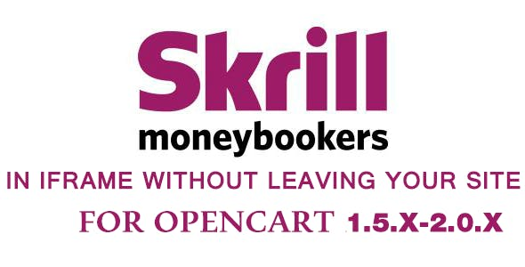 Skrill Moneybookers 2 in 1 without leaving a site