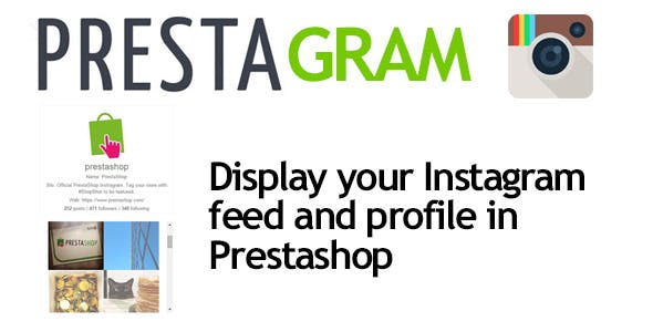 Presta Gram - instagram in Prestashop