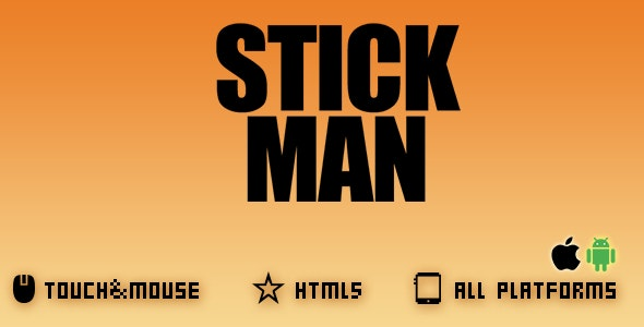 STICK MAN -HTML5 GAME - CodeCanyon Item for Sale