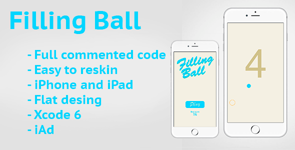 Filling Ball - CodeCanyon Item for Sale