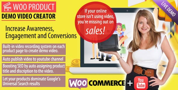 Woo Product Demo Video Creator